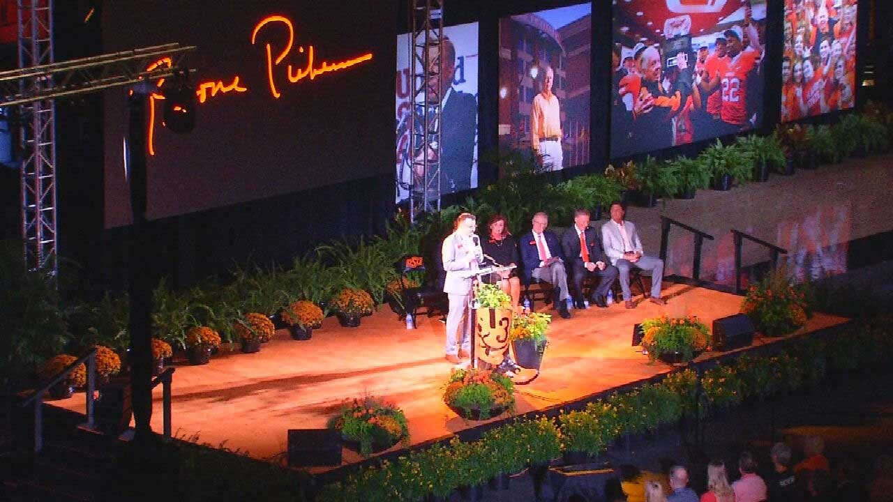 OSU Holds Celebration Of Life Ceremony To Honor Boone Pickens