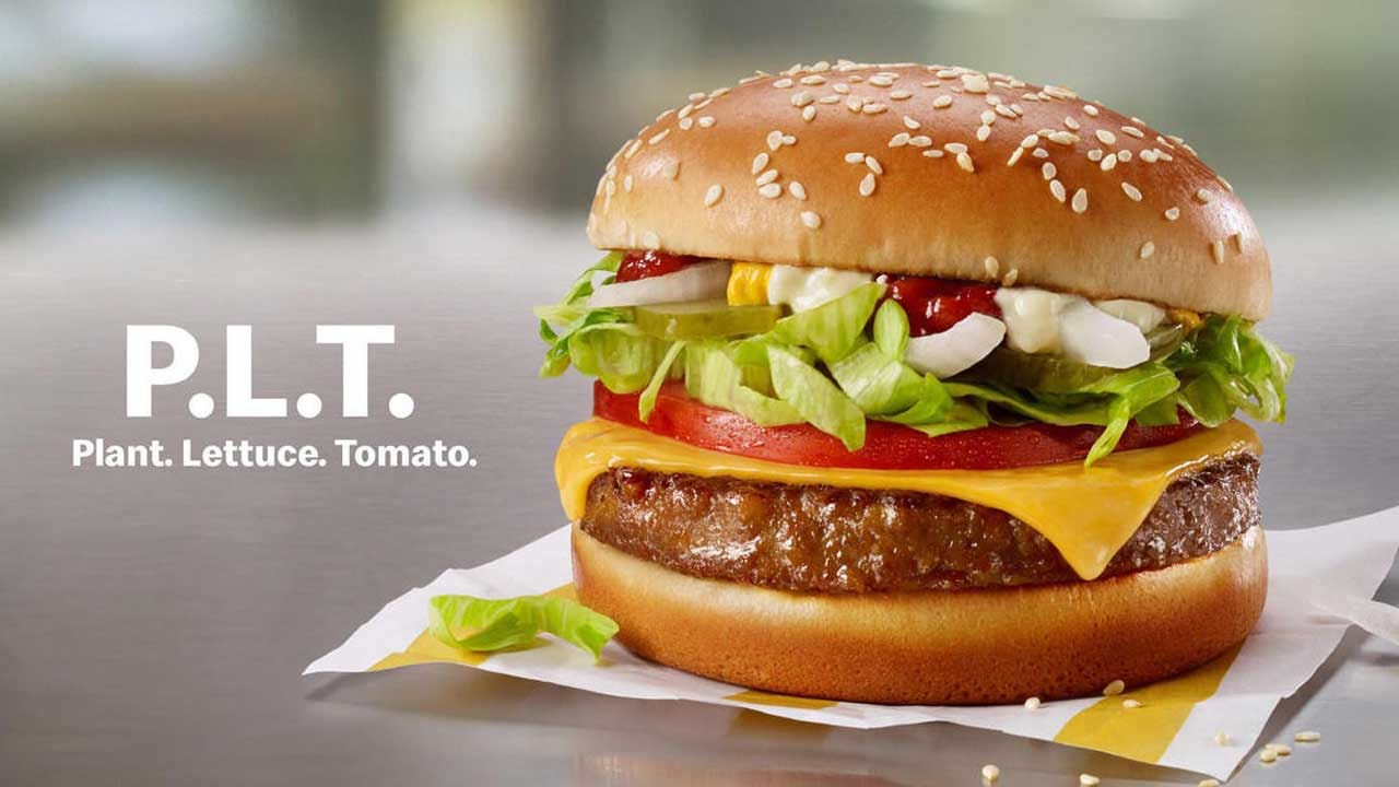Beyond Meat Shares Jump After McDonald's Says It's Testing Plant Burgers