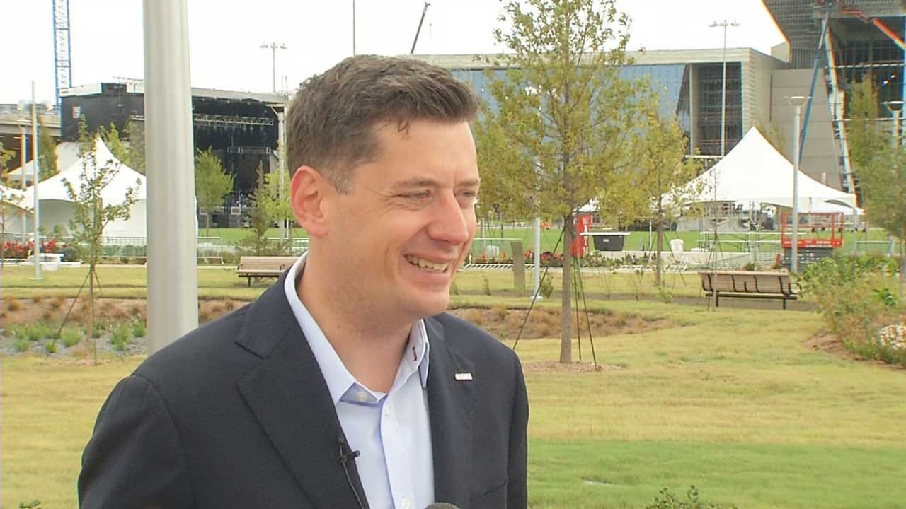 Mayor Holt Says City Is Prepared For Grand Opening Of Scissortail Park
