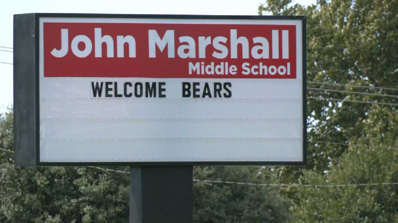 Student Arrested, Accused Of Assaulting Teacher At John Marshall Middle School