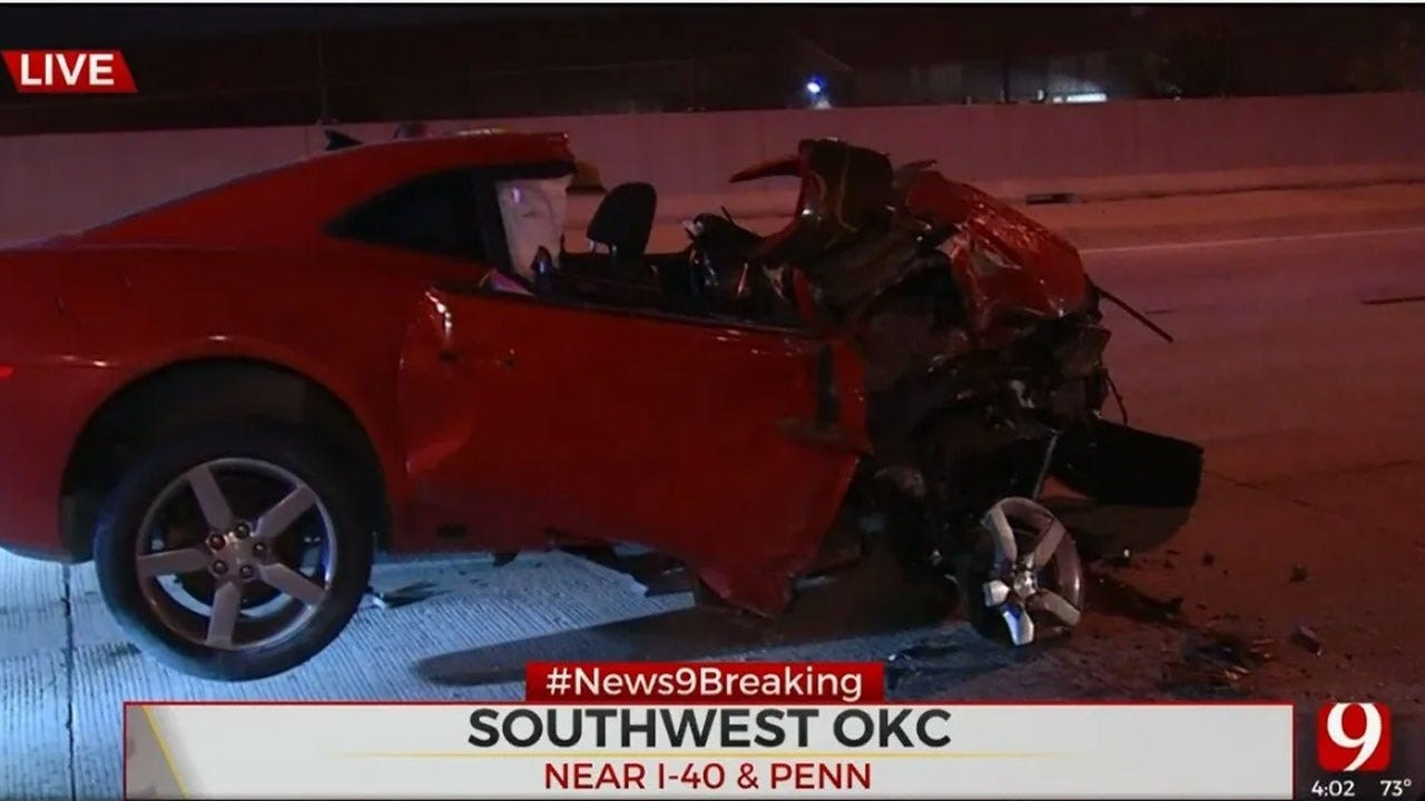 Woman In Critical Condition After Crashing On I-40 Near Penn