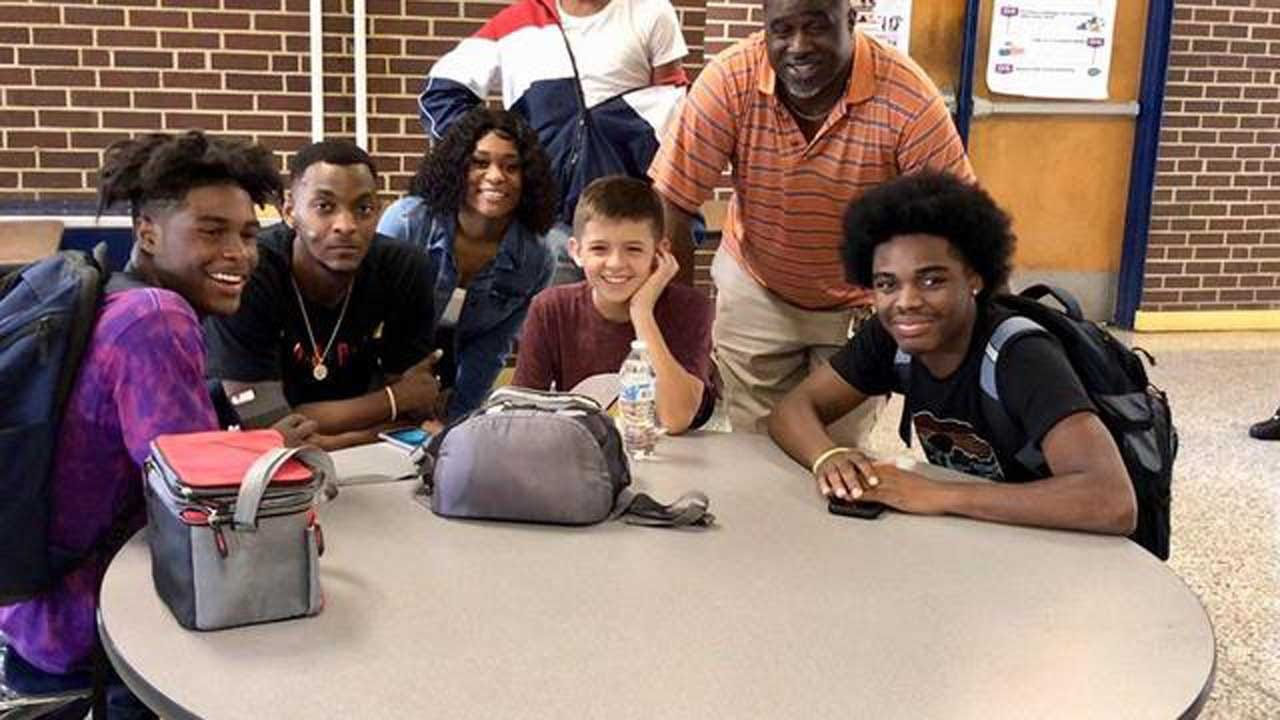 After Story About Freshman's Terrible First Day Of School Goes Viral, Upperclassmen Befriend Him At Lunch