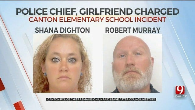 Canton Police Chief's Suspension Continues After Elementary School Gun Incident