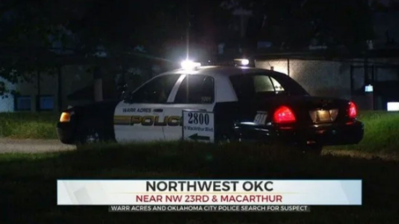 Warr Acres, Oklahoma City Police Search For Suspect