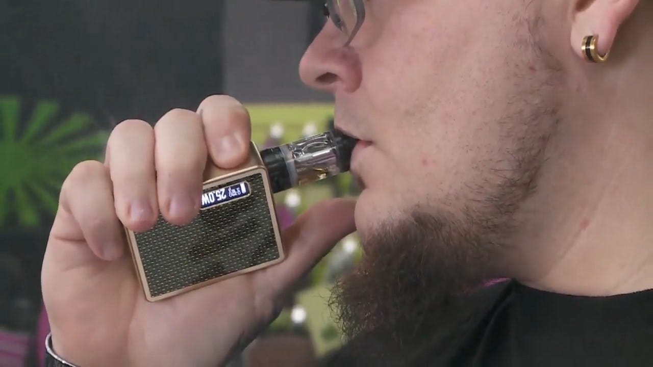 CDC Revises Down Number Of Vaping-Related Illnesses Across US