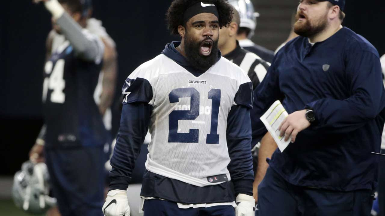 Ezekiel Elliott Becomes Highest-Paid Running Back With New Dallas Cowboys Contract