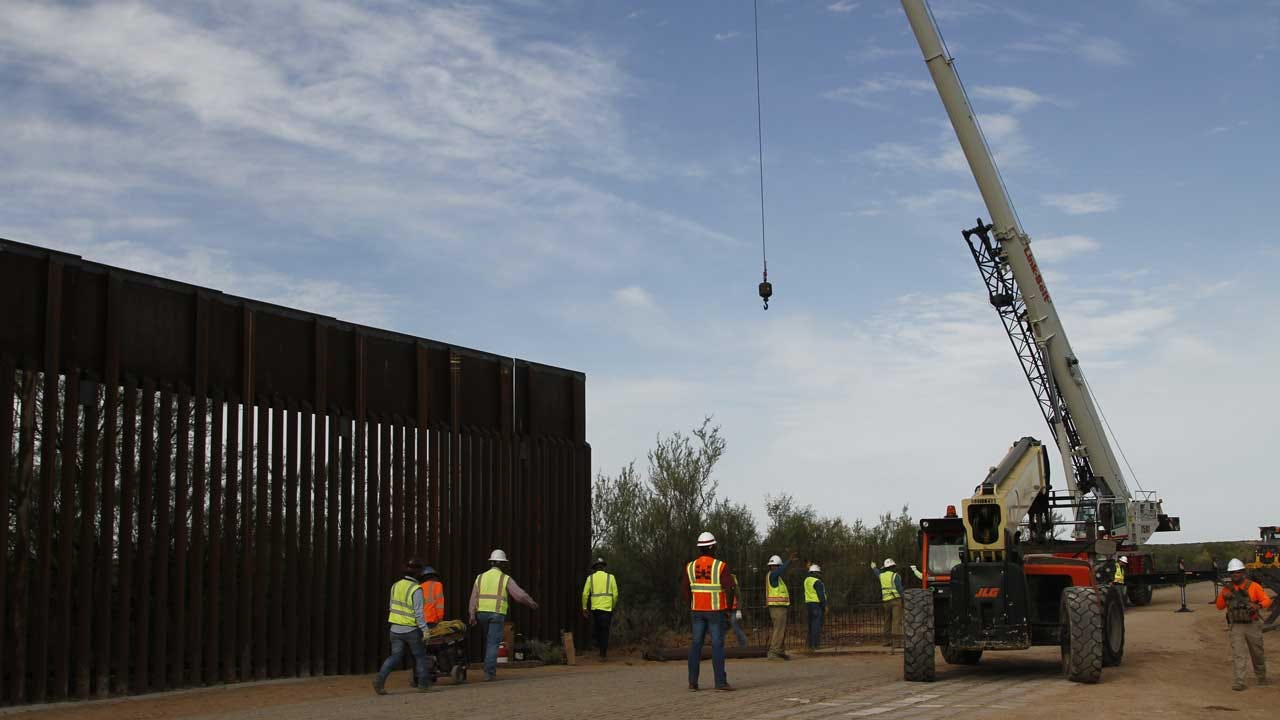 Oklahoma Project Being Cut To Pay For President Trump's Border Wall