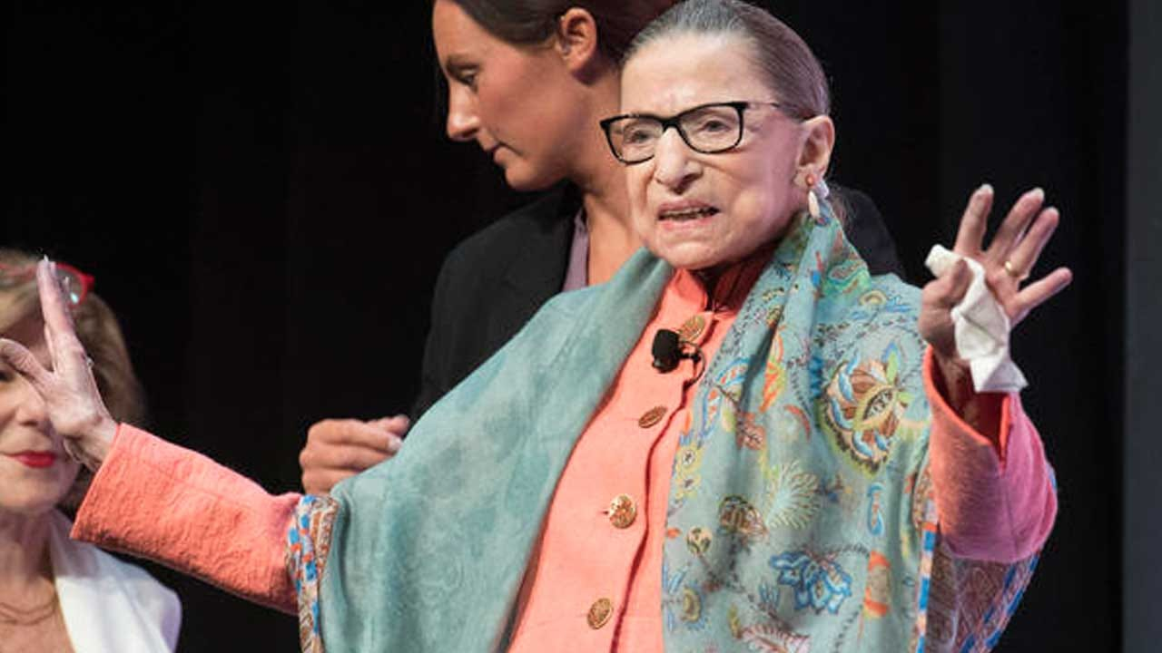 Ruth Bader Ginsburg Hospitalized For 'Chills And Fever'