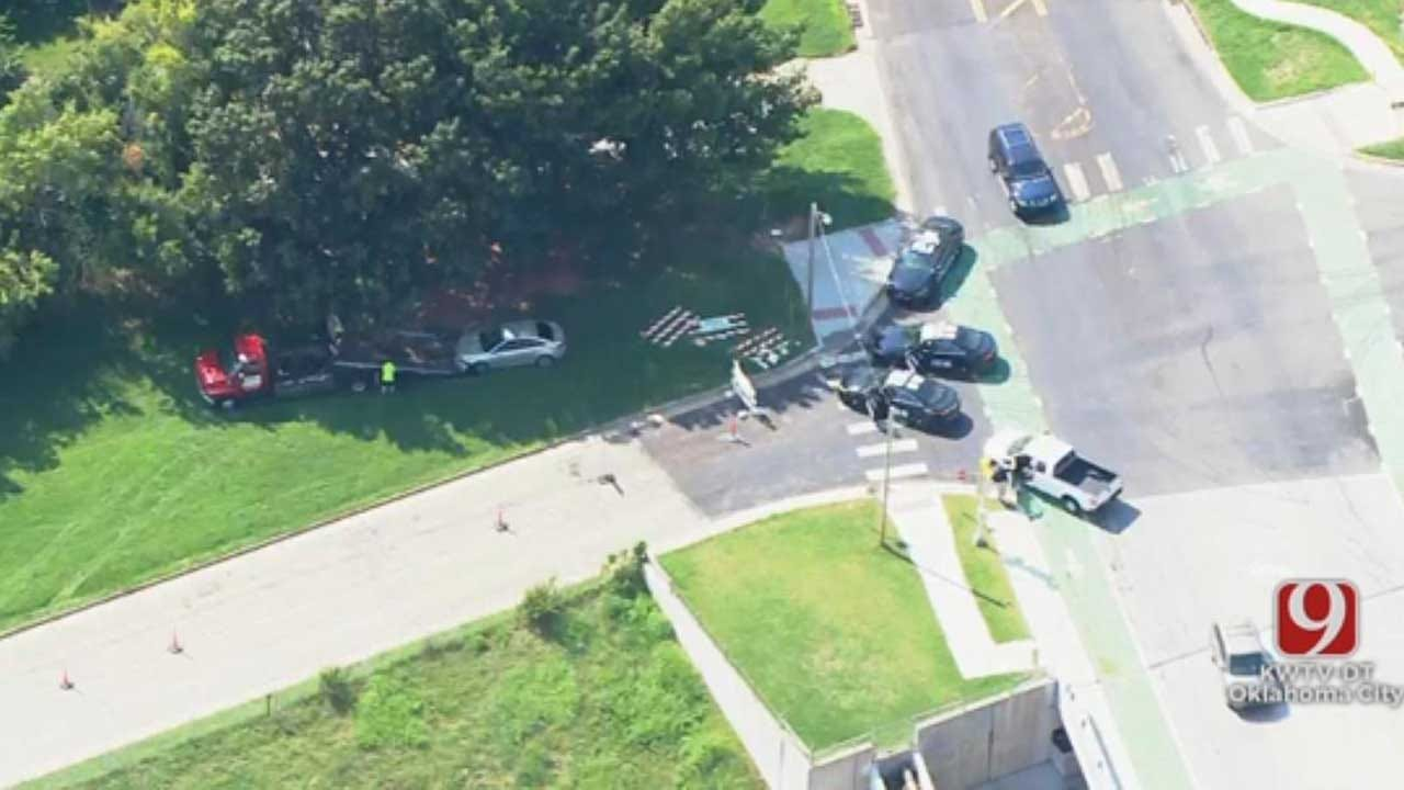 2 Suspects In Custody After Police Chase Ends In NW OKC