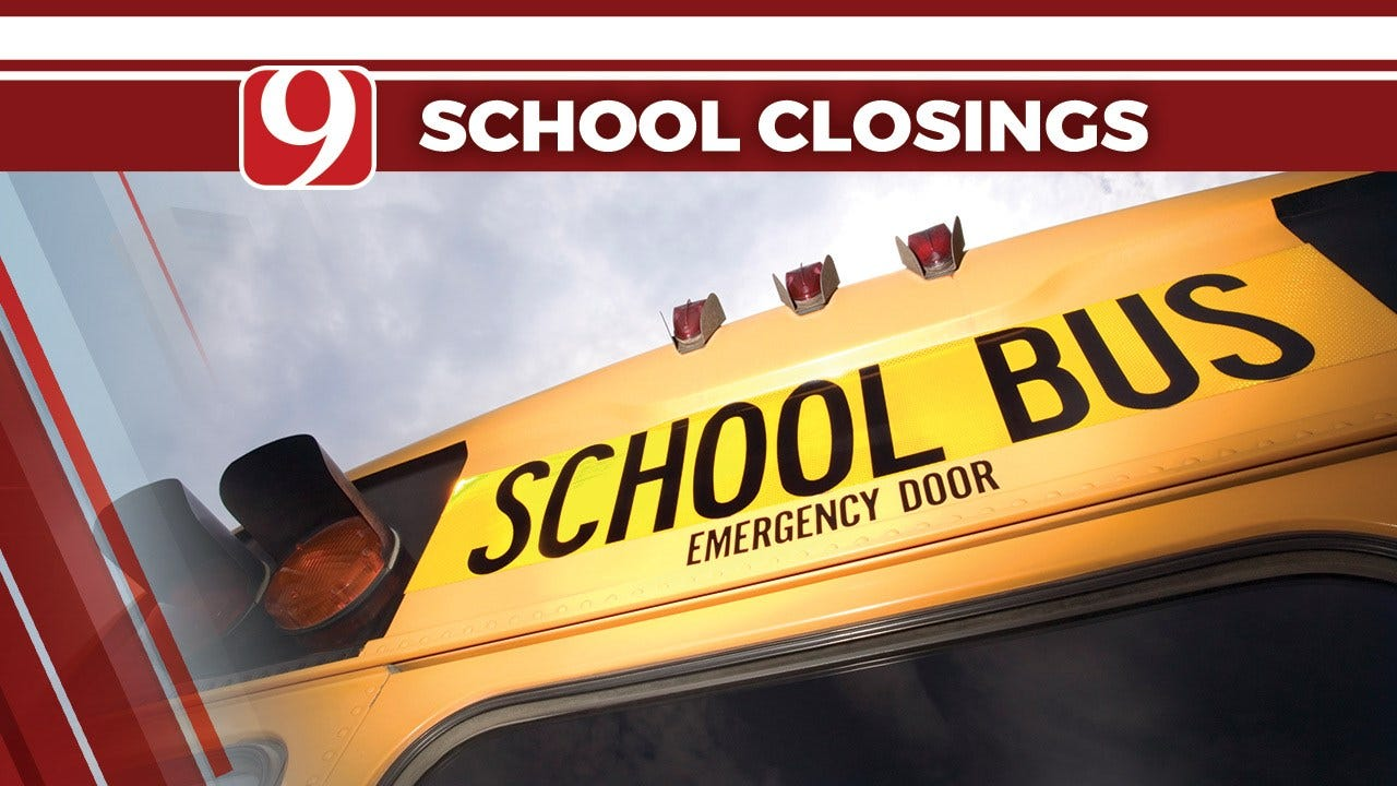 Schools In NW Oklahoma Close Due To Wintry Weather