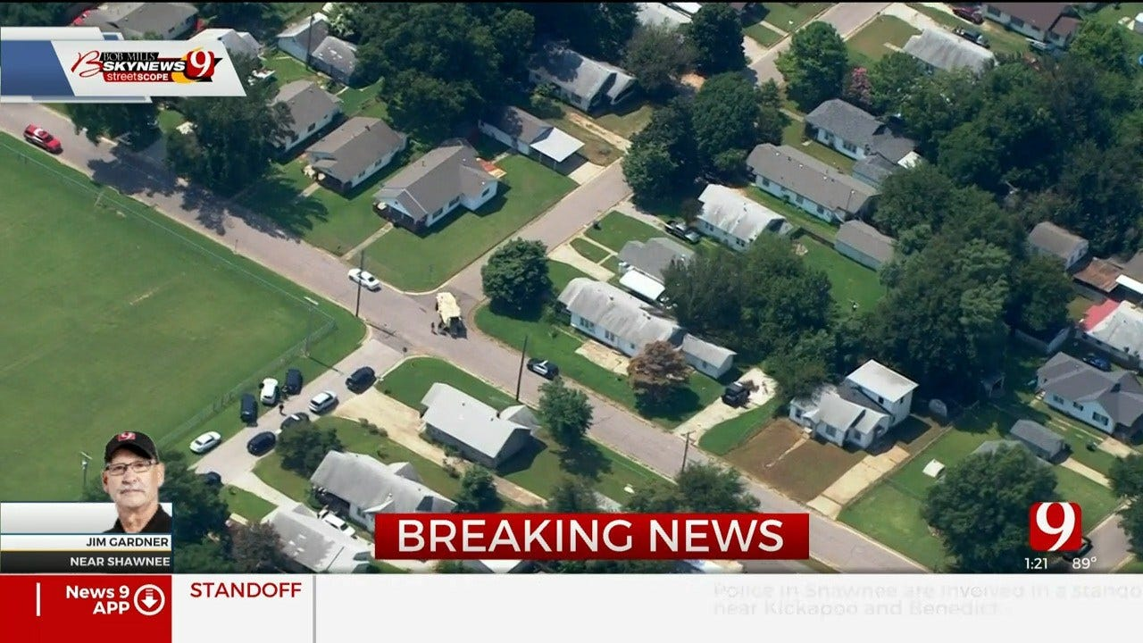 Suspect Dead Of Self-Inflicted Gunshot Wound Following Standoff In Shawnee
