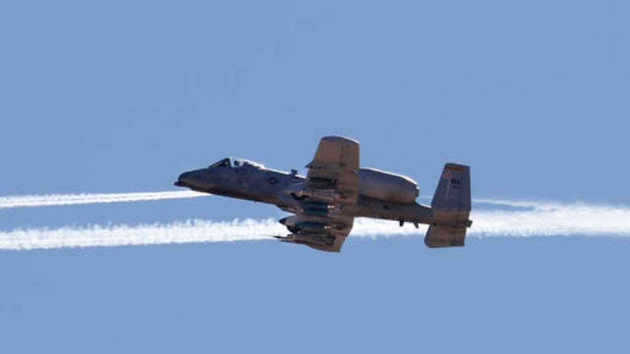 Air Force Jet Accidentally Fires Rocket Near Tucson