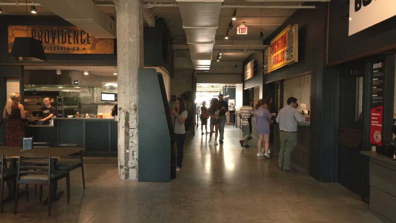 New Food Hall 'Parlor' Opens In OKC
