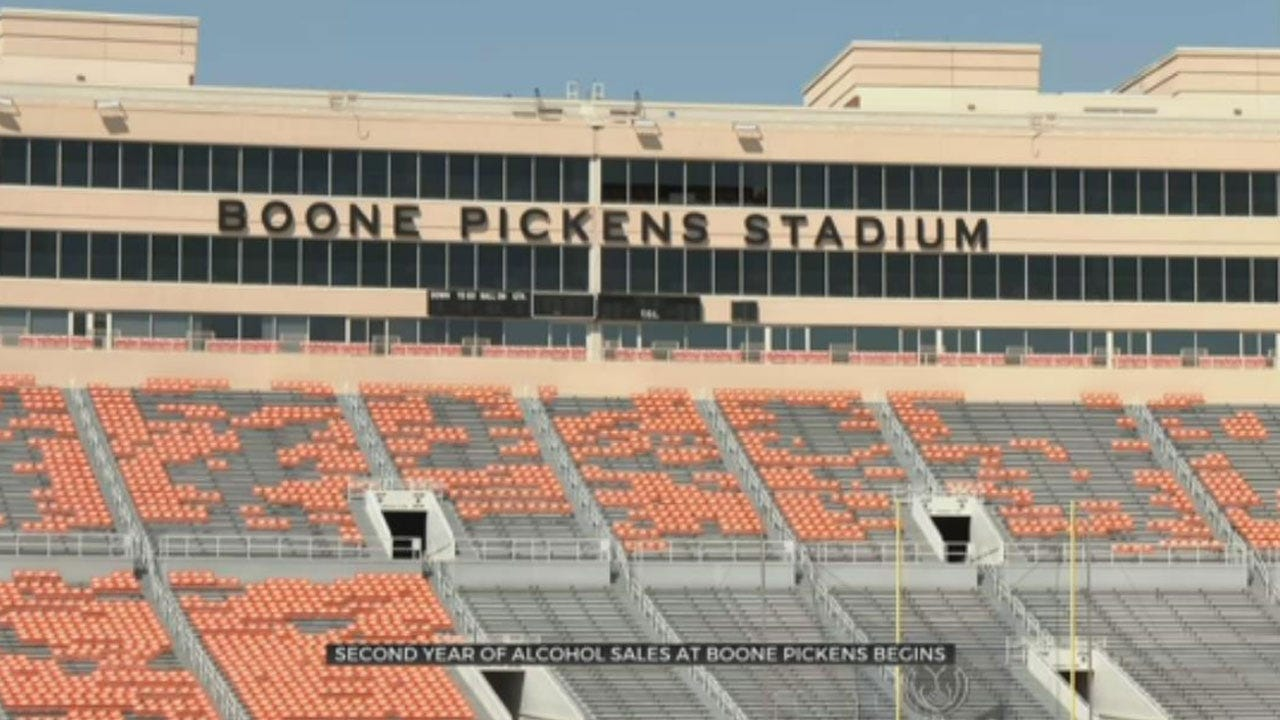 OSU To Sell Alcohol In Boone Pickens Stadium For Second Year
