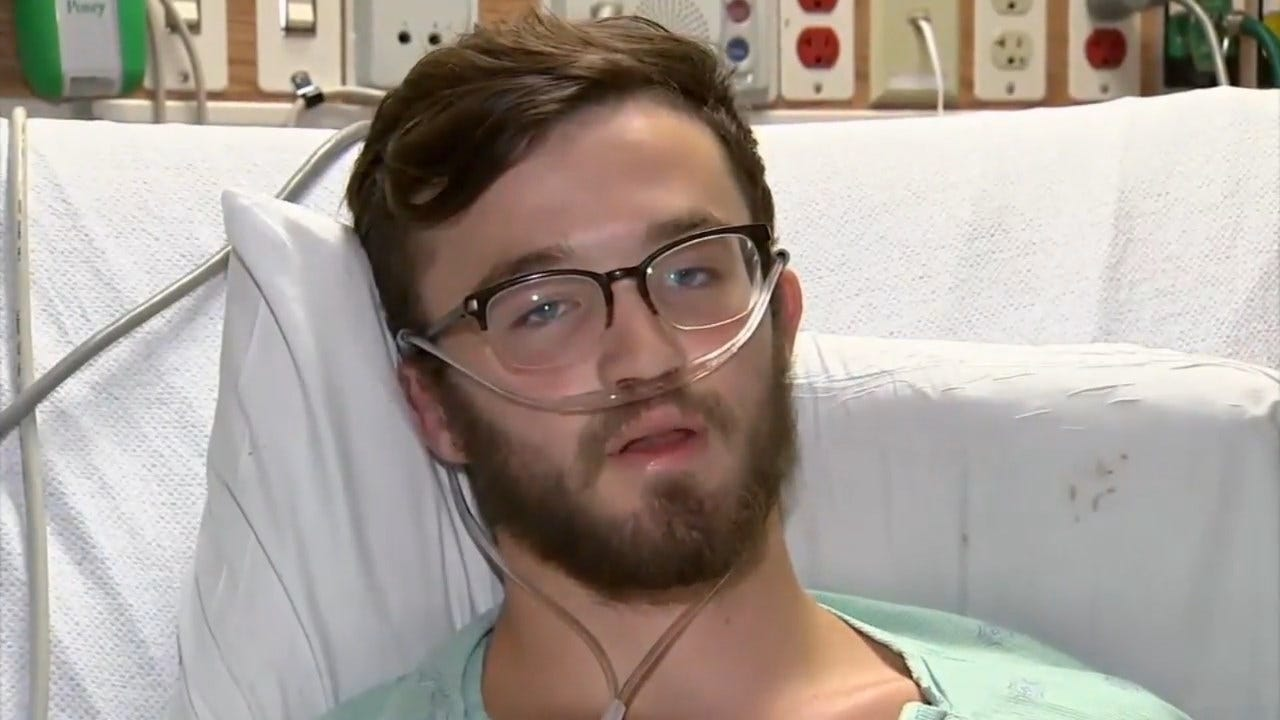 Teenager Hospitalized After Vaping With THC: 'My Lungs Are Like A 70-Year-Old's'