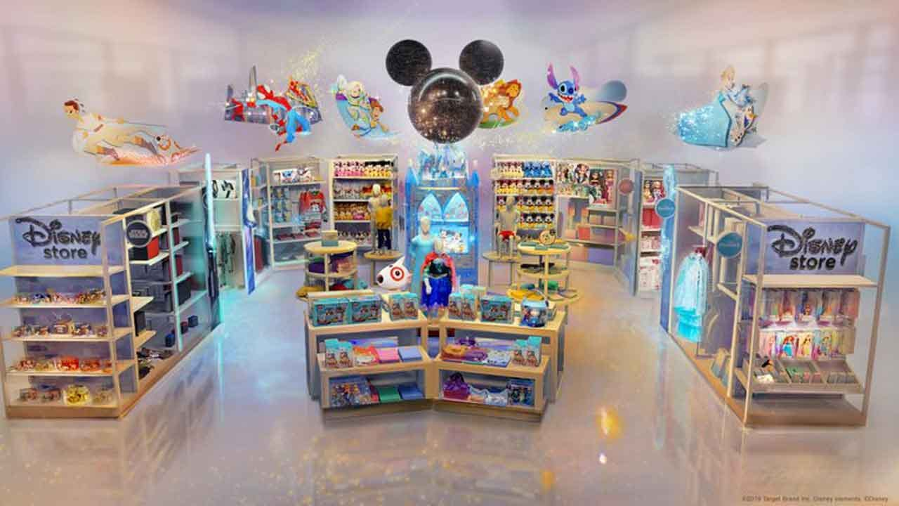 The Disney Store Coming To Target Starting In October