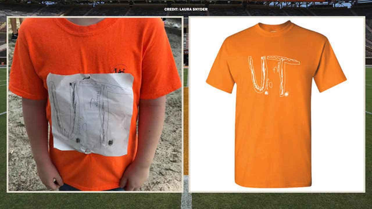 University Of Tennessee Turns Bullied 4th Grader's T-Shirt Design Into Official School Apparel