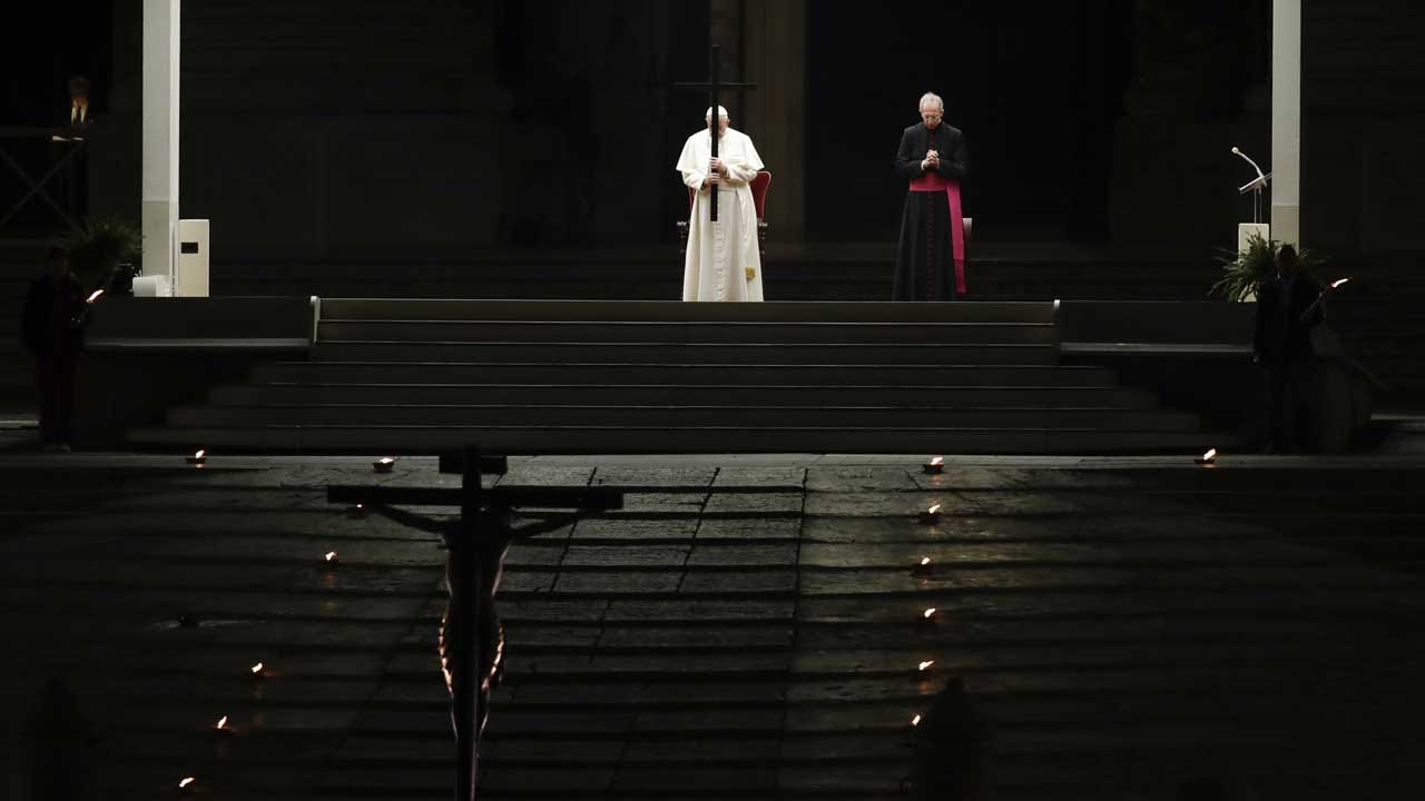 In A Test Of Faith, Christians Mark Good Friday In Isolation