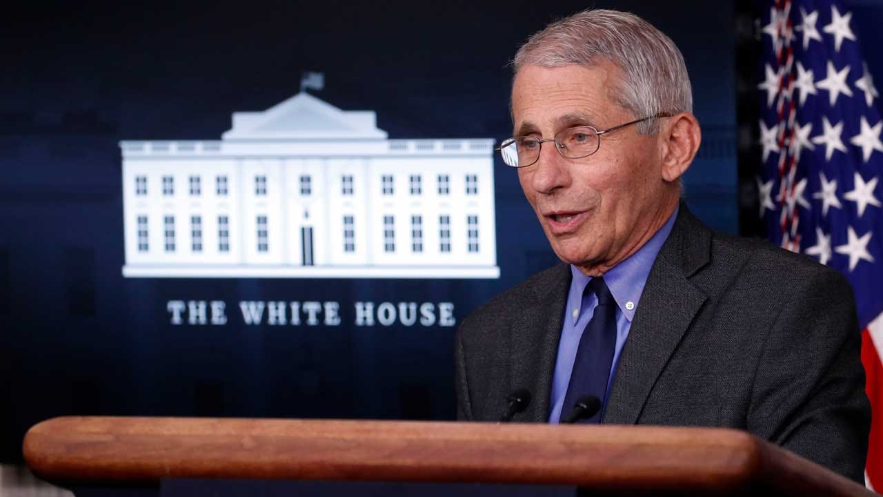 As Holidays Approach, Fauci Discusses COVID-19 'Risk/Benefit Ratio'