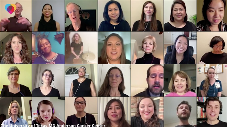 Hospital's Employee Choir Creates Uplifting Virtual Performance During Coronavirus Pandemic