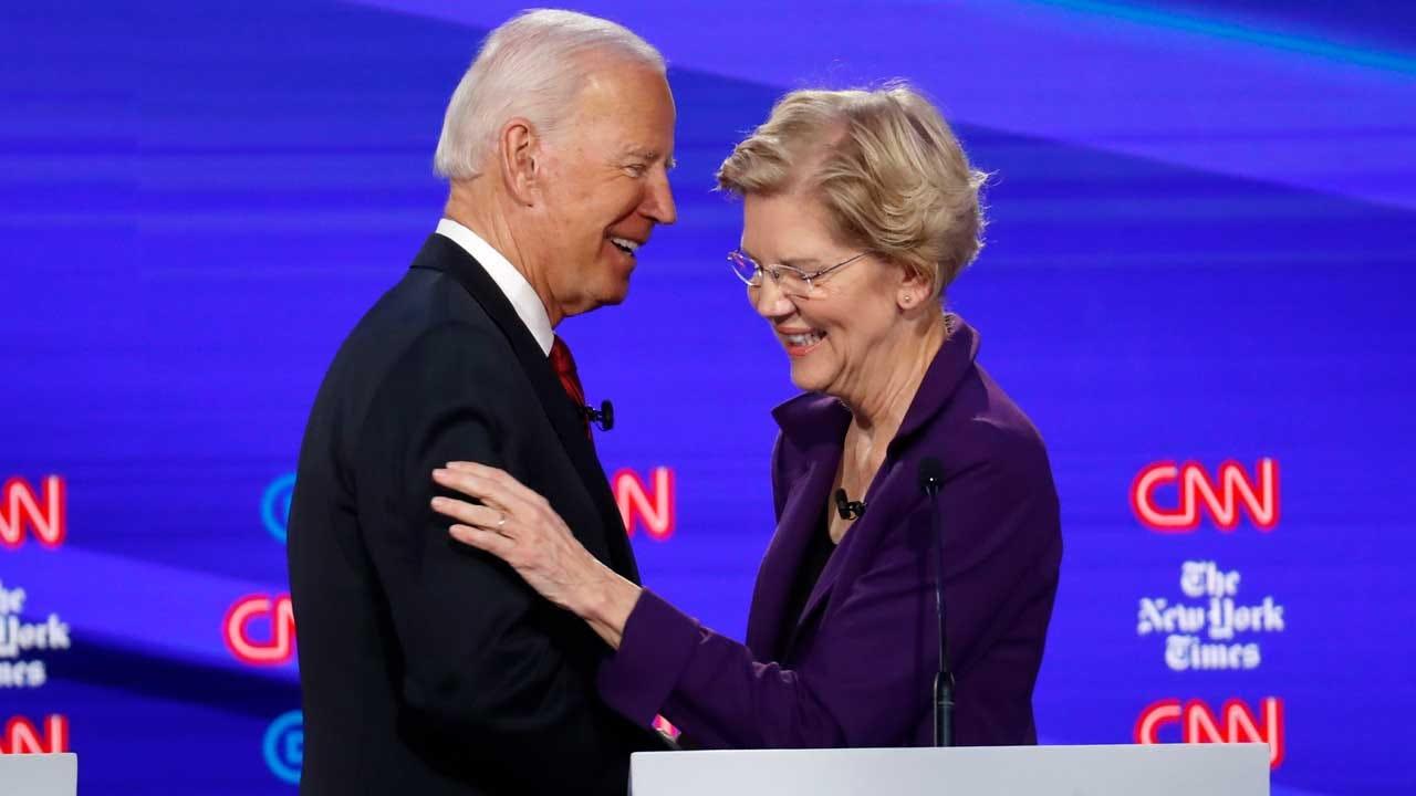 Elizabeth Warren Endorses Former Rival Joe Biden For President