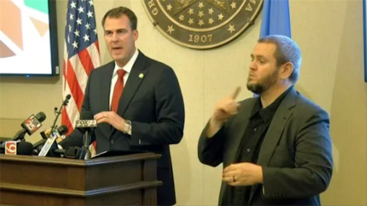 Governor Stitt Introduces Multi-Phase Plan To Reopen Oklahoma