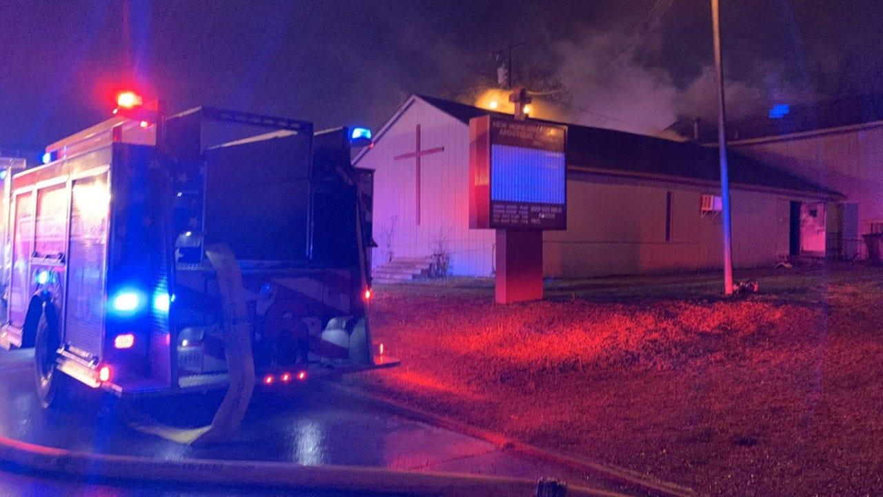 OCFD Investigating Overnight Church Fire In SW OKC
