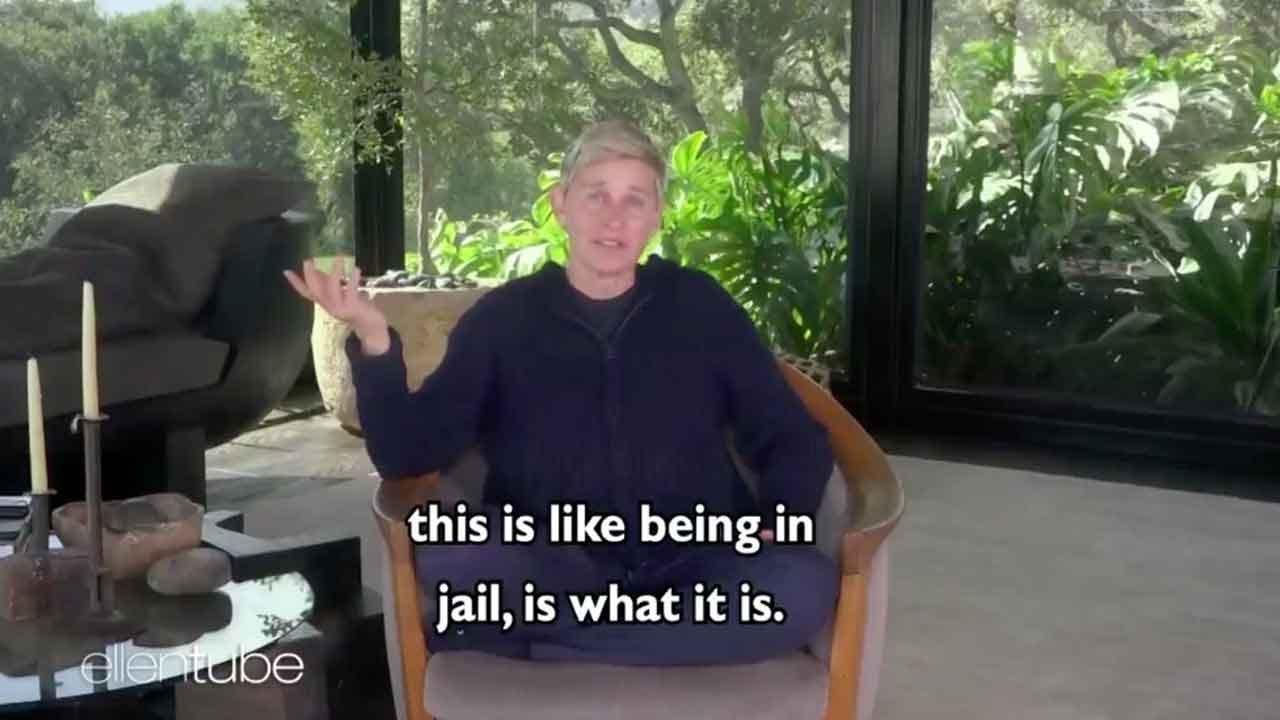 Ellen DeGeneres Facing Backlash For Comparing Self-Quarantine To 'Being In Jail'