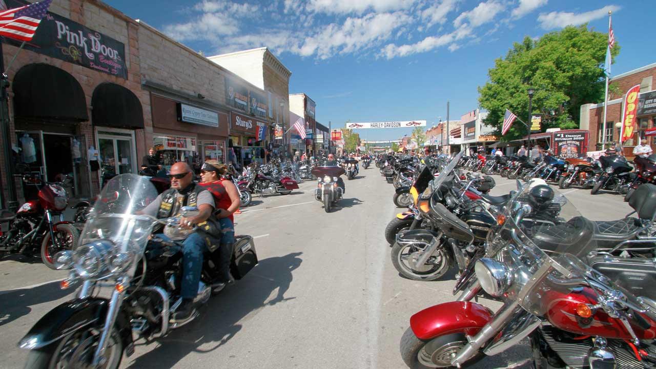 South Dakota motorcycle rally