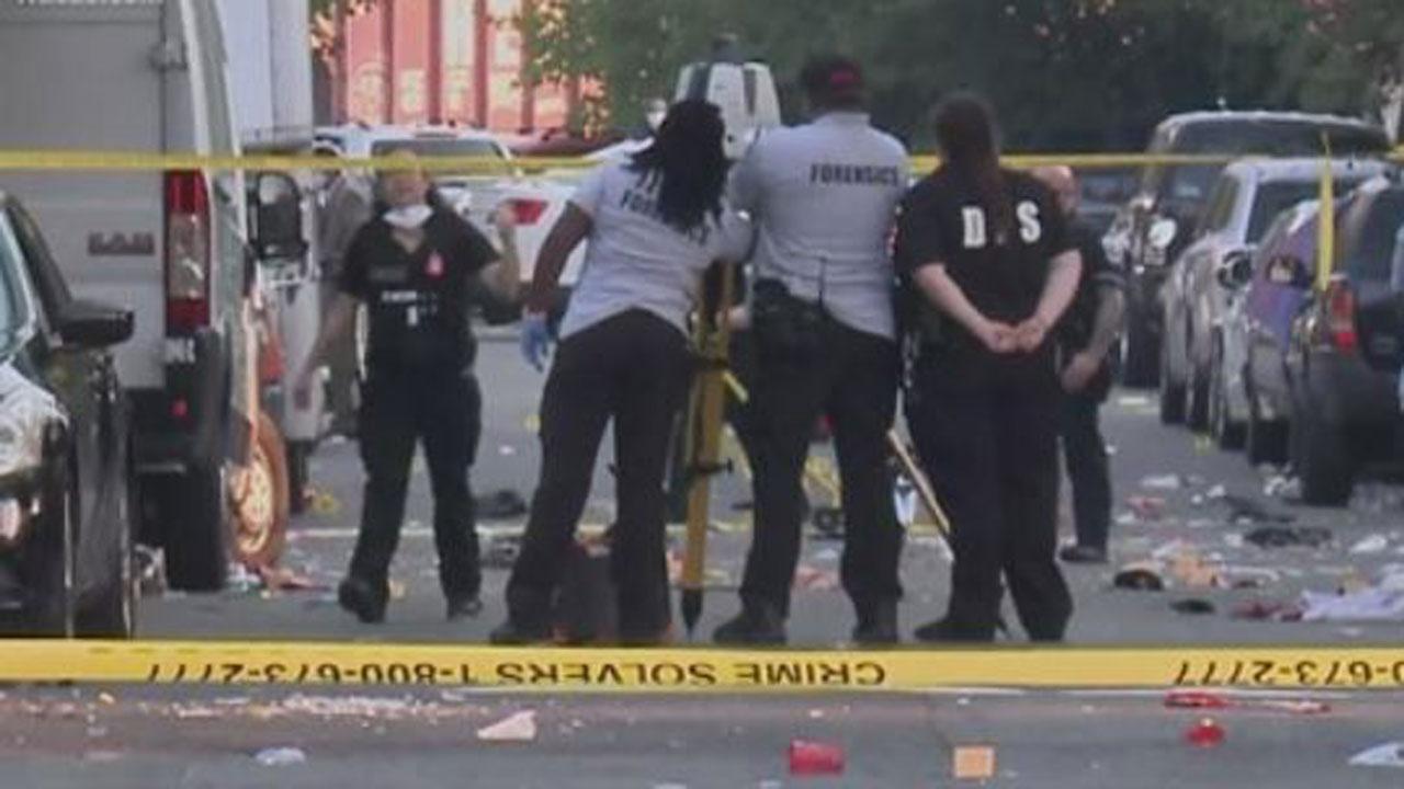 17-Year-Old Killed, 20 Injured In Washington D.C. Shooting