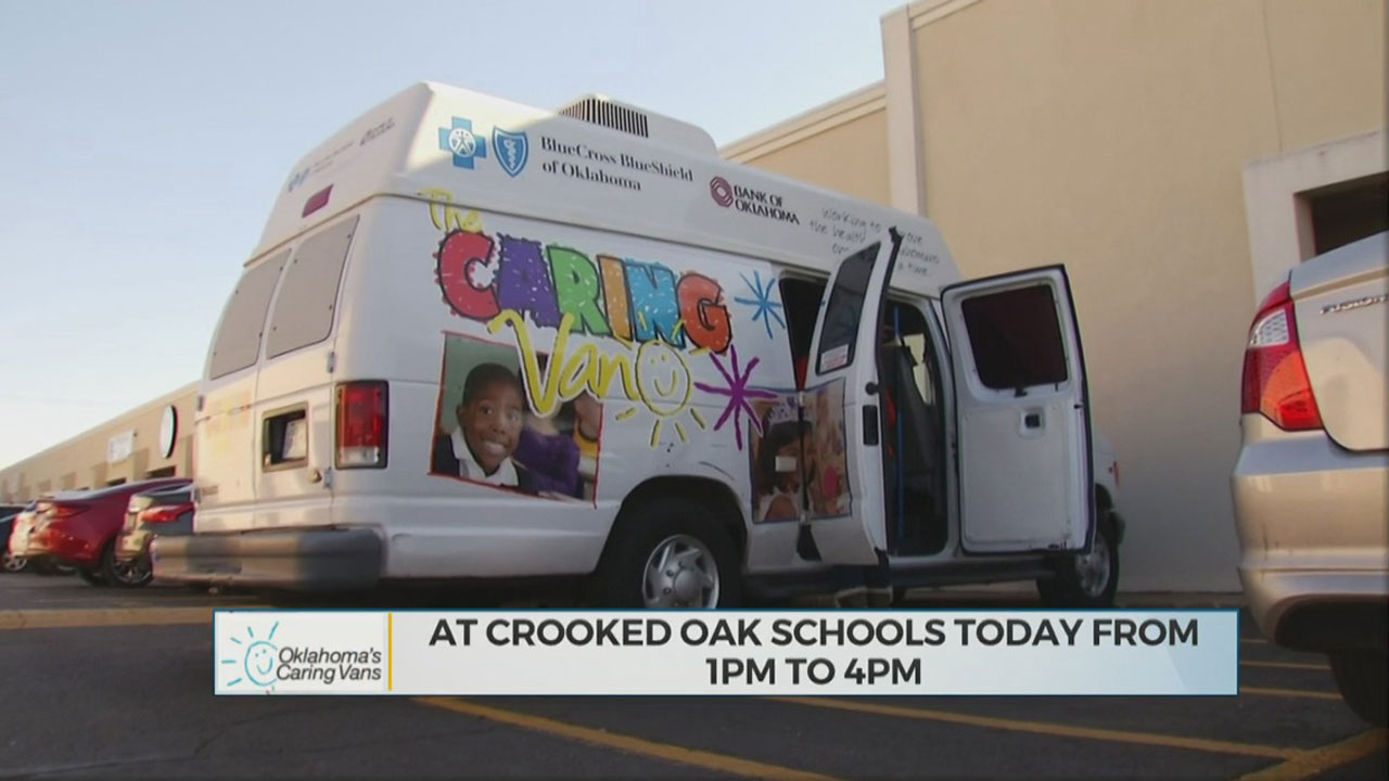 Oklahoma Caring Vans Resume Services As Students Head Back To School