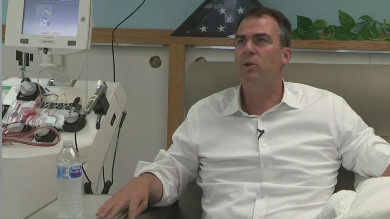 Gov. Stitt Calls On Recovered COVID Patients To Donate Plasma