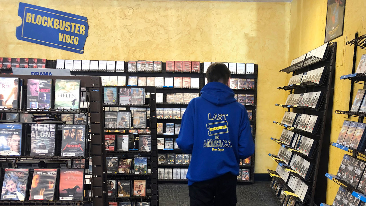 Blockbuster Video Airbnb Aug. 12, 2020