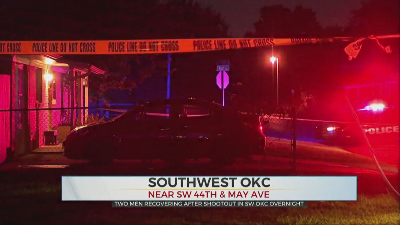 2 Men Recovering After Overnight Shootout In SW OKC