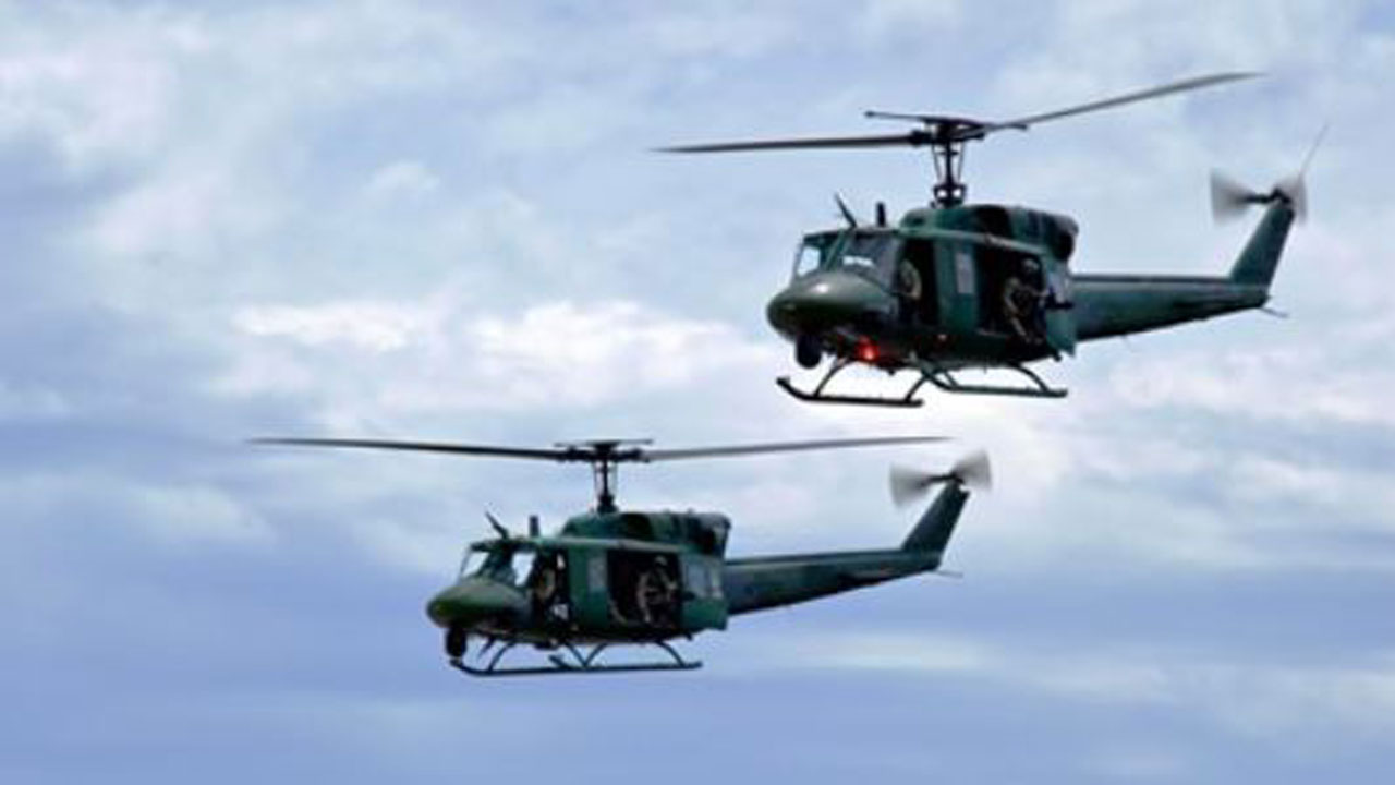 Air Force Helicopter Struck By Bullet While Flying Over Virginia