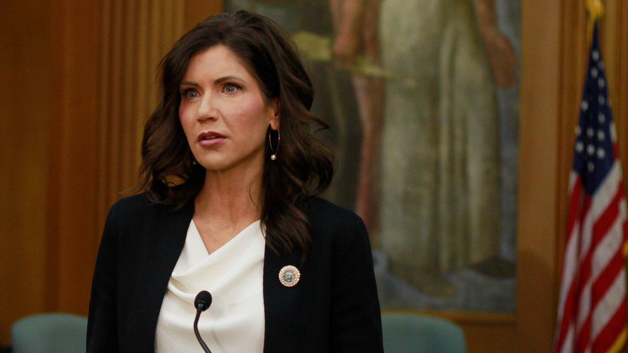 South Dakota Governor Kristi Noem Getting $400,000 Security Fence Around Home To Protect Her