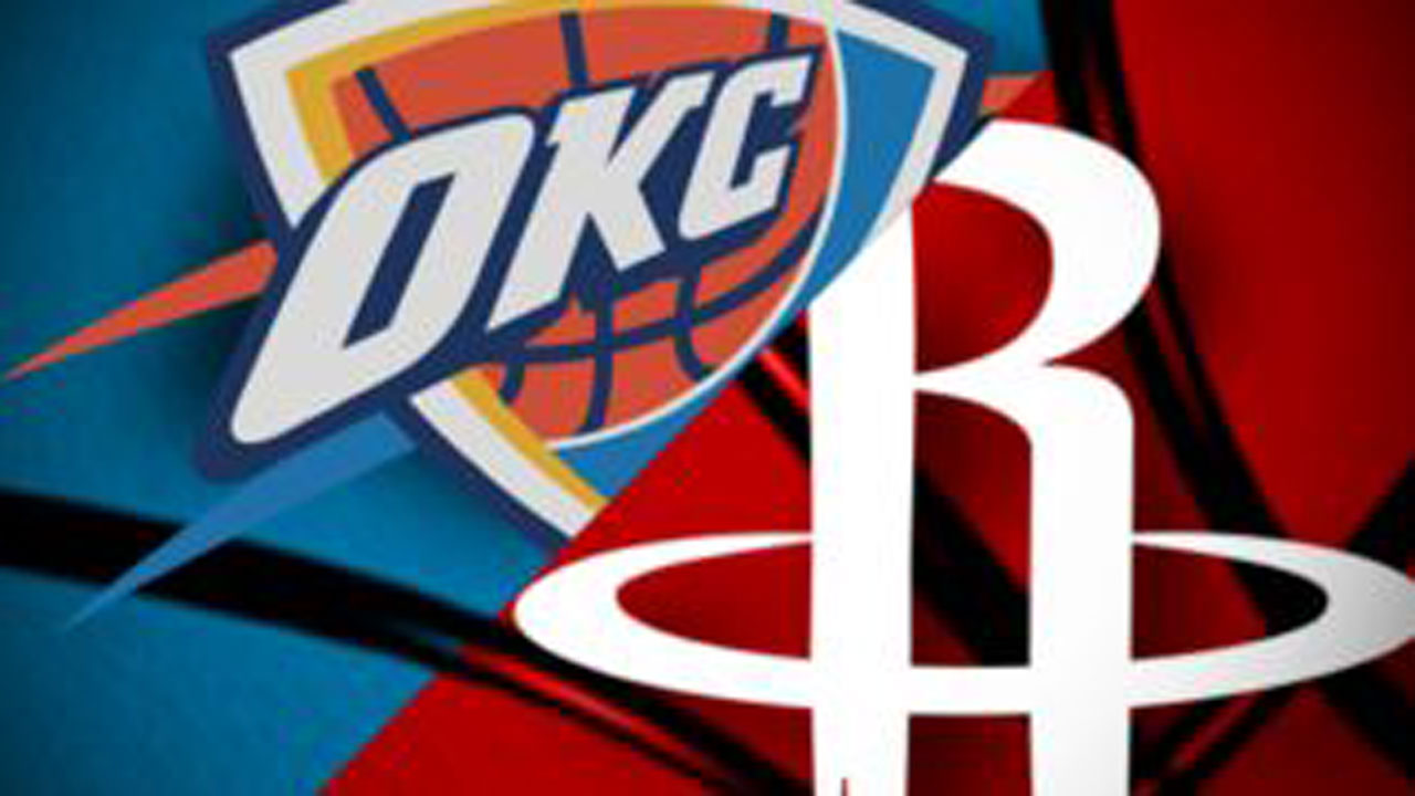 NBA Releases Date And Time For Thunder-Rockets Game 5 And Game 6