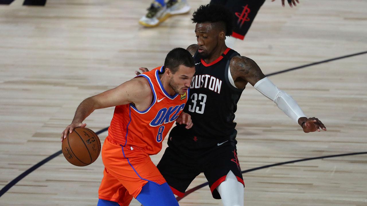 Thunder-Rockets 2020 Game 1 Aug. 18, 2020