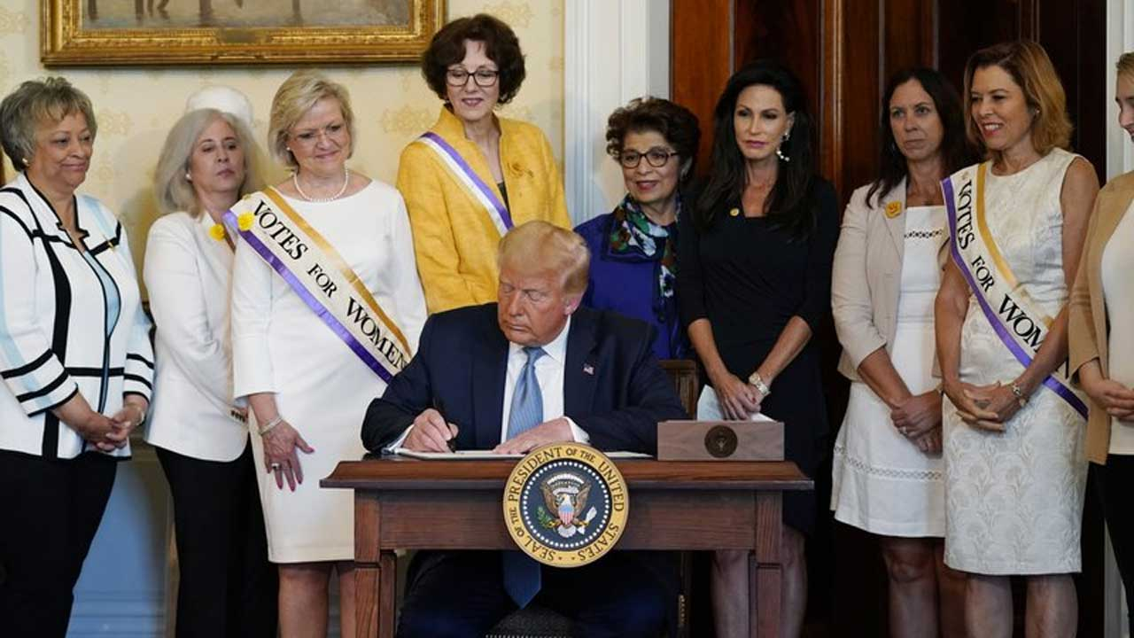 President Trump To Pardon Women's Suffrage Leader Susan B. Anthony