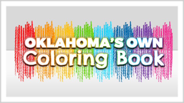 Oklahoma's Own Coloring Book