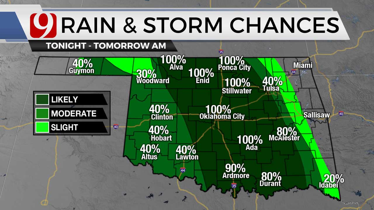 Storm chances for night 8-4