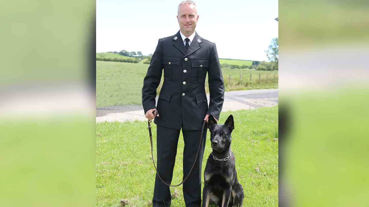 Police Dog Finds Missing Mom & Baby During His First Shift On The Force