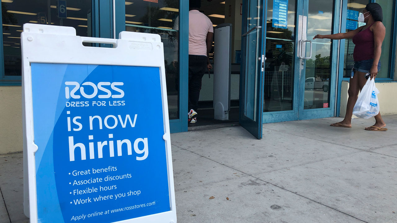 1.2 Million Seek Jobless Aid After $600 Federal Check Ends