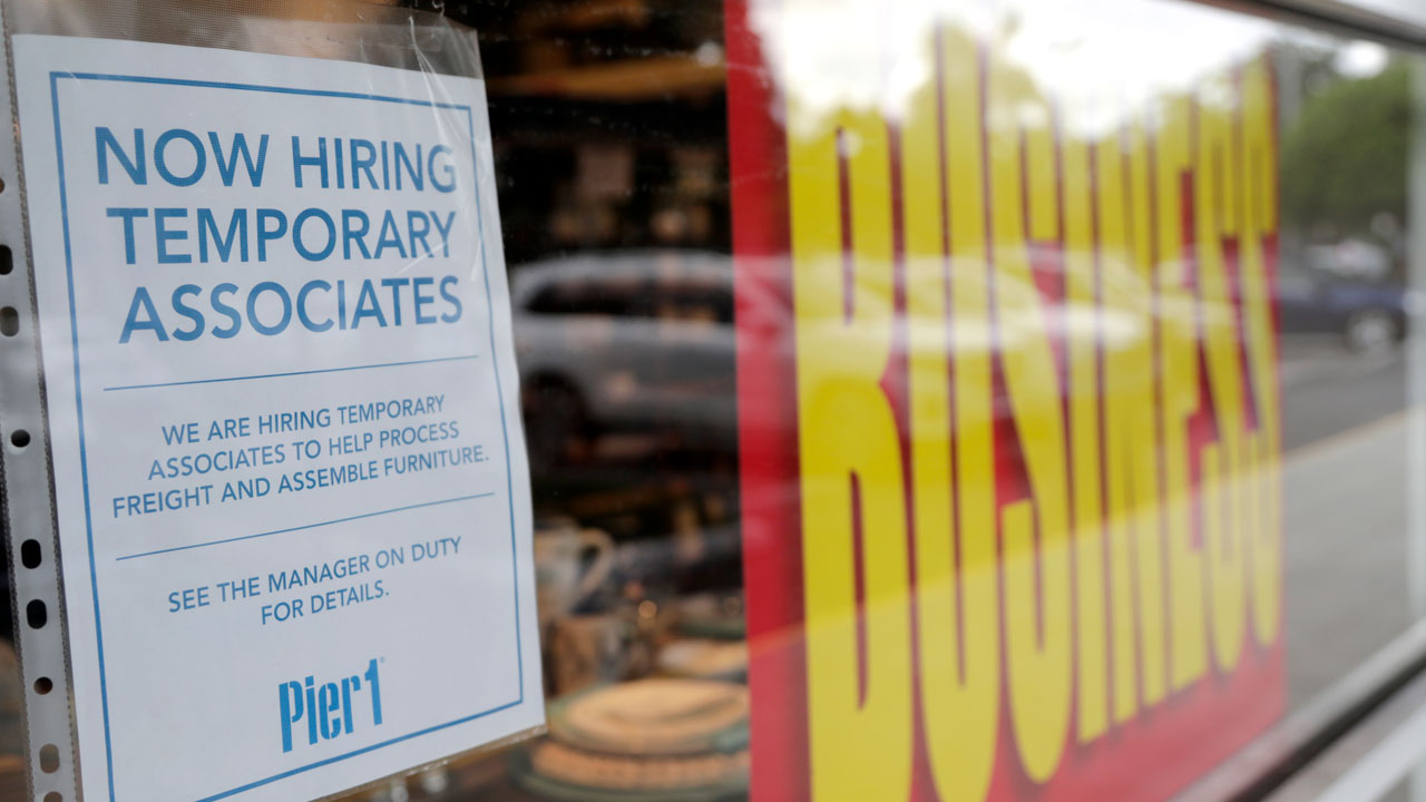 US Adds 1.8 Million Jobs In A Sign That Hiring Has Slowed
