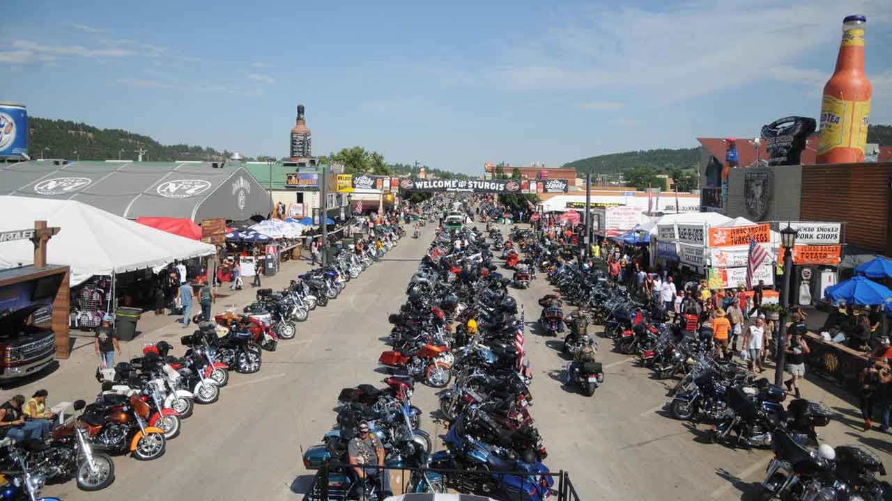 Biker Rally That Usually Attracts 400,000 People Still Being Held Amid Pandemic