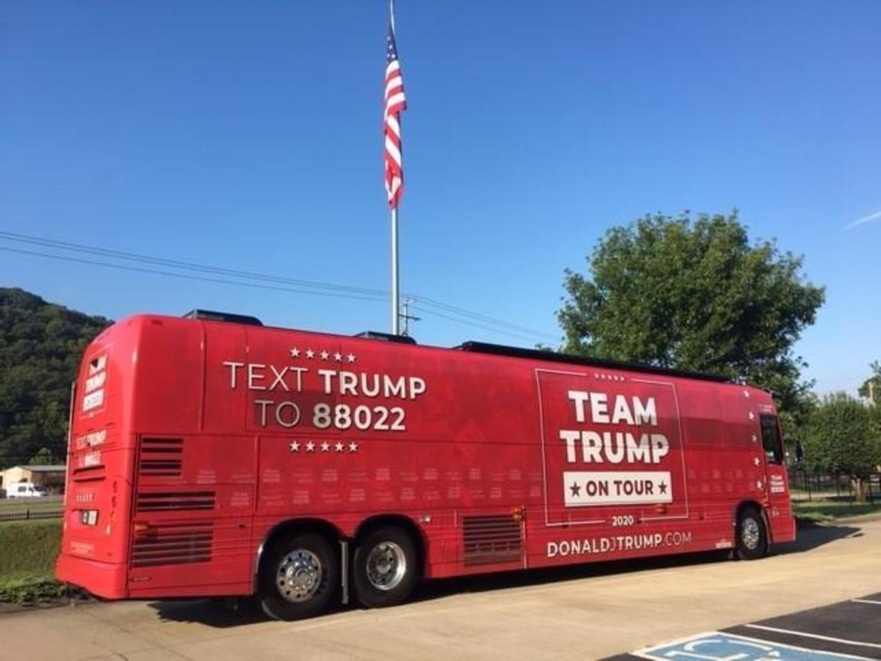 Trump Campaign Launches Bus Tours Through Swing States
