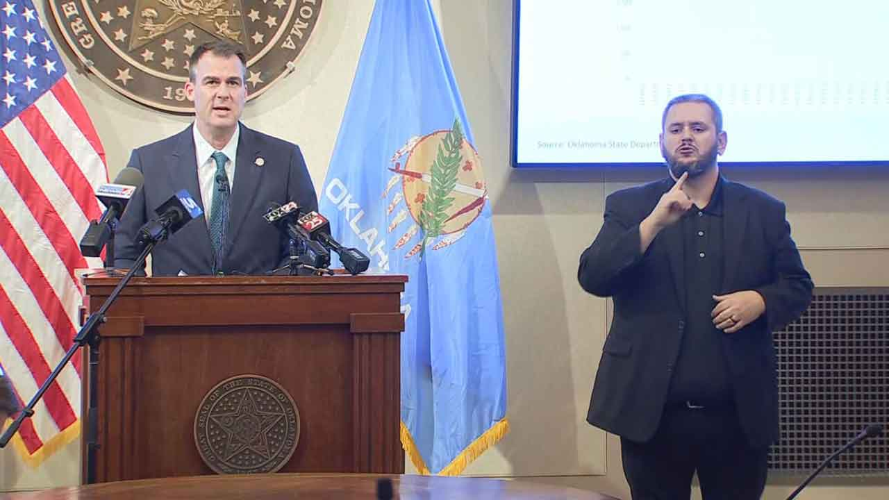 Gov. Stitt Announces Changes To COVID-19 Quarantine Guidelines For Oklahoma Schools