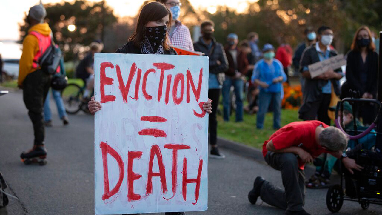Up To 40 Million Americans Face Eviction By End Of 2020
