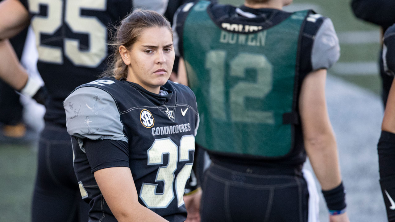 Sarah Fuller Is 1st Woman To Score In Power 5 Football Game
