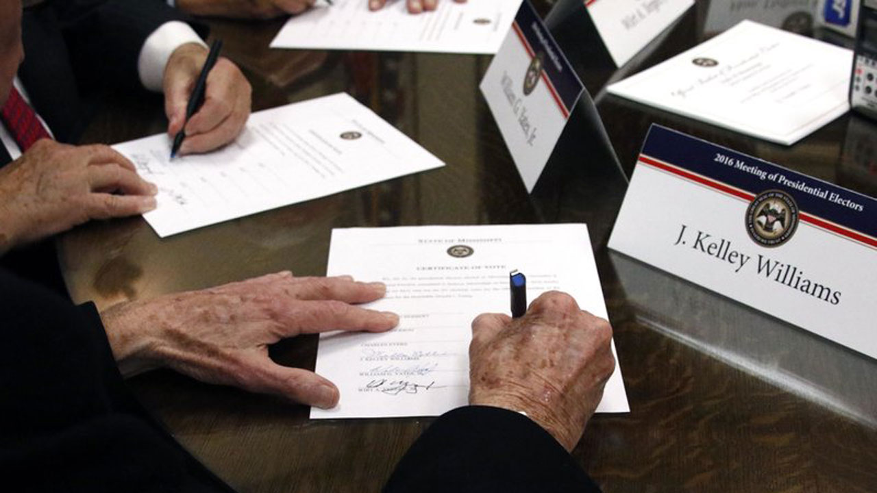 Electors Meeting To Formally Choose Biden As Next President